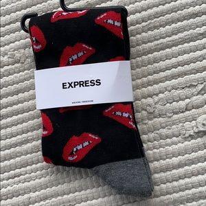 Rocky Horror Show Themed Crew Socks